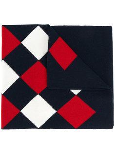 шарф с ромбовидным узором Moncler