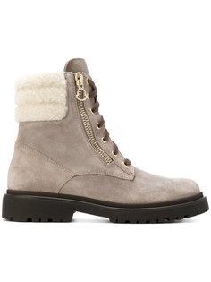 ботинки Patty с отделкой овчиной Moncler