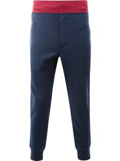 спортивные брюки с присборенными щиколотками Junya Watanabe Comme Des Garçons Man