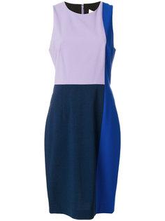 платье миди колор блок  Dvf Diane Von Furstenberg