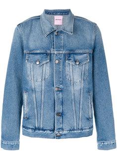 джинсовая куртка Legalize It Palm Angels