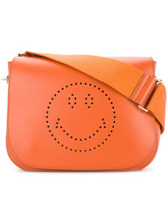 сумка-сэтчел Smiley Ebury Anya Hindmarch