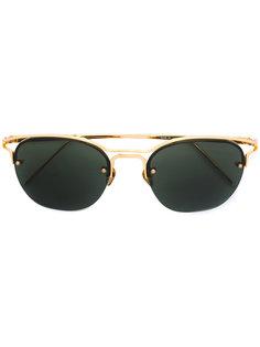 """солнцезащитные очки-""""авиаторы"""" Linda Farrow"""