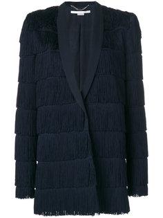 пиджак с бахромой Tia Stella McCartney