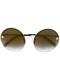круглые солнцезащитные очки Medusa Versace