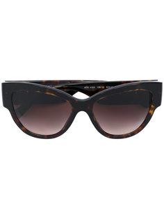 крупные солнцезащитные очки Medusa Versace