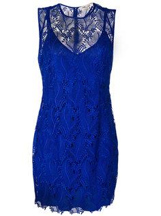 кружевное платье мини  Dvf Diane Von Furstenberg