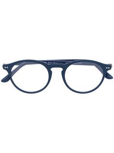 очки в округлой оправе Giorgio Armani