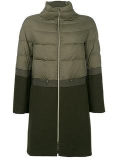пальто с панельным дизайном Herno