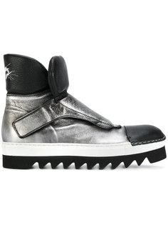 ботинки на рифленой подошве Rocco P.