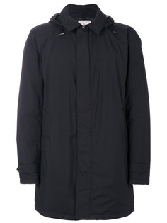пальто с капюшоном и стеганой подкладкой Moncler
