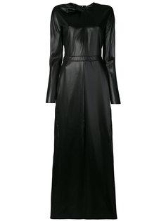длинное платье с узлом  Nina Ricci
