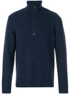 свитер с высоким воротником на пуговицах Closed
