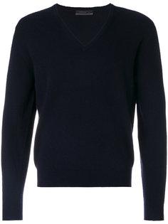 классический вязаный свитер Prada
