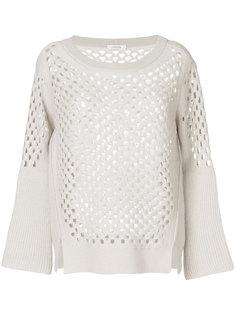 вязаный свитер с дырками Dorothee Schumacher