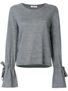 свитер с завязками на рукавах P.A.R.O.S.H.