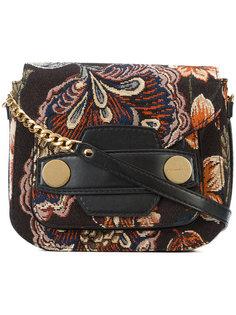 жаккардовая сумка на плечо Stella Popper Stella McCartney
