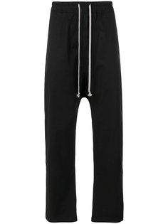 спортивные брюки со шнурком на талии Rick Owens DRKSHDW