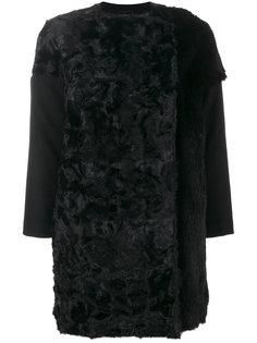 пальто с меховой отделкой  S.W.O.R.D 6.6.44
