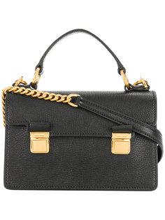 маленькая сумка-сэтчел с пряжками  Miu Miu