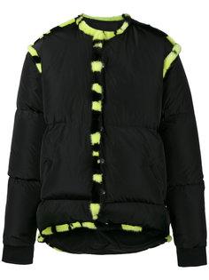 дутая куртка с меховой отделкой Liam Hodges