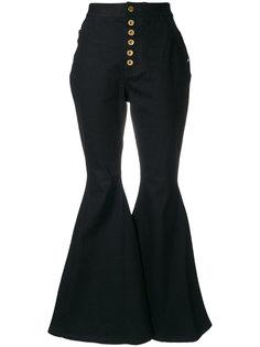 джинсы клеш с завышенной талией  Ellery
