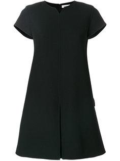расклешенное платье мини Courrèges