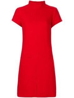 платье-свитер с высоким воротником Courrèges