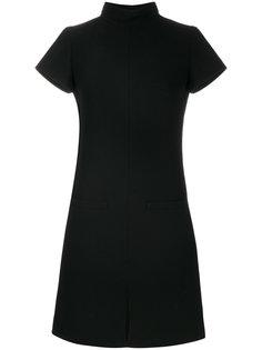 платье-свитер с высоким воротом  Courrèges