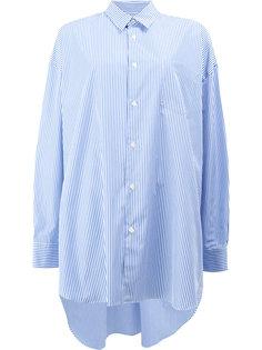 рубашка с асимметричным подолом Junya Watanabe Comme Des Garçons