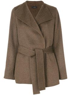 пальто с запахом Joseph