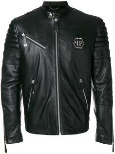куртка с узким воротником-стойкой Philipp Plein