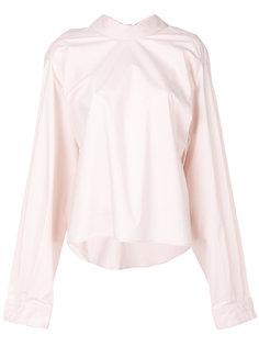блузка с завязкой на бант на спине Mm6 Maison Margiela