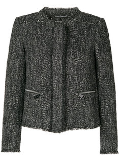 твидовый пиджак с карманами на молнии Luisa Cerano