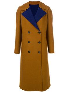 двубортное пальто  Etro