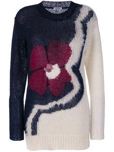 свитер с цветком P.A.R.O.S.H.