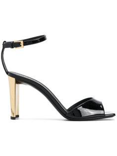 босоножки на металлическом каблуке Giuseppe Zanotti Design