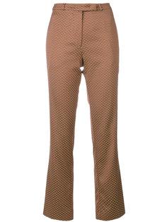 брюки клеш с принтом  Etro