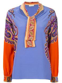 блузка с шарфом  Etro