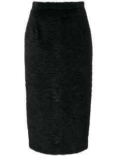 фактурная юбка-карандаш Nº21