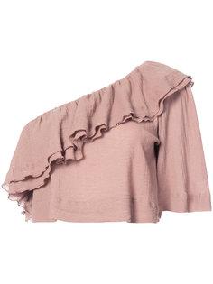 блузка на одно плечо Apiece Apart