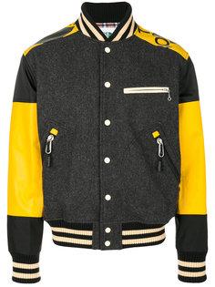 куртка-бомбер с яркими вставками Junya Watanabe Comme Des Garçons Man