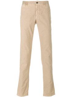 классические брюки-чинос Incotex
