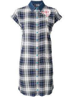 платье-рубашка в клетку  Diesel