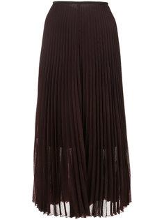 плиссированная юбка Akris Punto