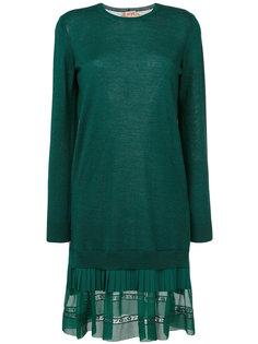 платье с полупрозрачным подолом Nº21