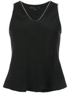 декорированная блузка с V-образным вырезом Alexander Wang