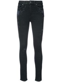 декорированные джинсы скинни Paige