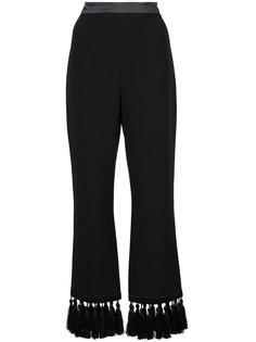укороченные брюки с кисточками Cinq A Sept