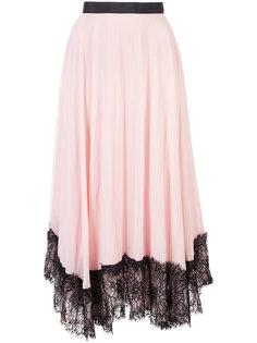 асимметричная юбка с оборками Cinq A Sept